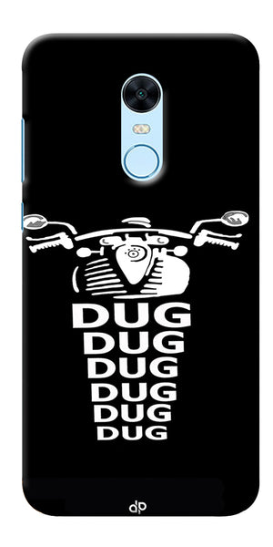 Apni Dug Dug Bullet Design Printed Designer Back Case Cover For Xiaomi Redmi Note 5