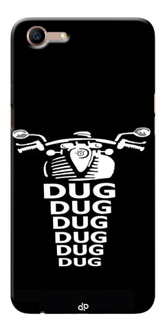 Apni Dug Dug Bullet Design Printed Designer Back Case Cover For Oppo A83