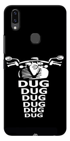 Apni Dug Dug Bullet Design Printed Designer Back Case Cover For Vivo V9