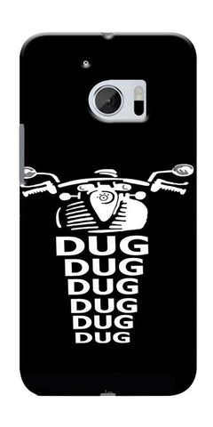 Apni Dug Dug Bullet Design Printed Designer Back Case Cover For HTC 10
