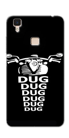 Apni Dug Dug Bullet Design Printed Designer Back Case Cover For Vivo V3