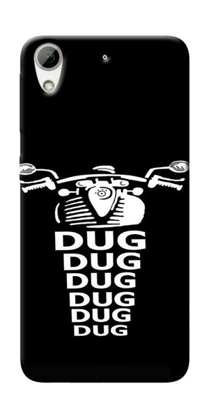 Apni Dug Dug Bullet Design Printed Designer Back Case Cover For HTC Desire 626