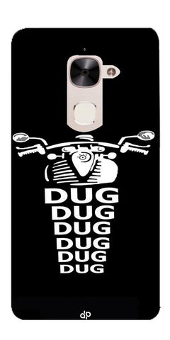 Apni Dug Dug Bullet Design Printed Designer Back Case Cover For LeEco Le 2