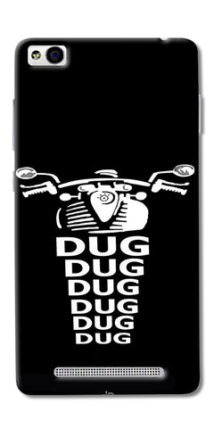 Apni Dug Dug Bullet Design Printed Designer Back Case Cover For Xiaomi Redmi 3s