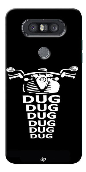 Apni Dug Dug Bullet Design Printed Designer Back Case Cover For LG Q8