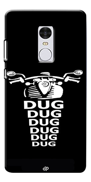 Apni Dug Dug Bullet Design Printed Designer Back Case Cover For Xiaomi Redmi Note 4