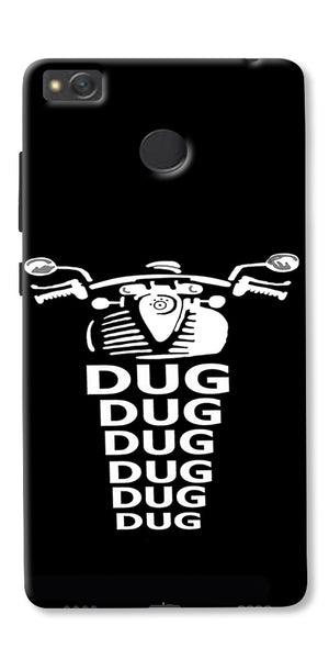 Apni Dug Dug Bullet Design Printed Designer Back Case Cover For Xiaomi Redmi 4