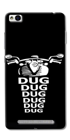 Apni Dug Dug Bullet Design Printed Designer Back Case Cover For Xiaomi Redmi 4A