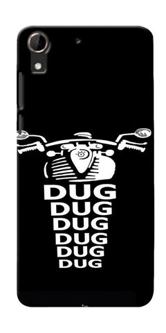 Apni Dug Dug Bullet Design Printed Designer Back Case Cover For HTC Desire 728
