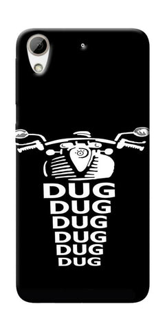 Apni Dug Dug Bullet Design Printed Designer Back Case Cover For HTC Desire 826