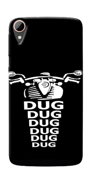 Apni Dug Dug Bullet Design Printed Designer Back Case Cover For HTC Desire 828