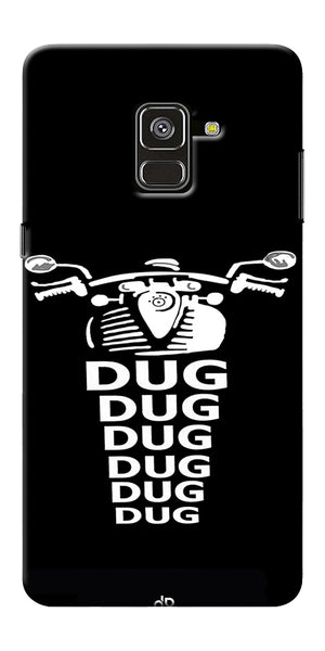 Apni Dug Dug Bullet Design Printed Designer Back Case Cover For Samsung Galaxy A8 Plus 2018