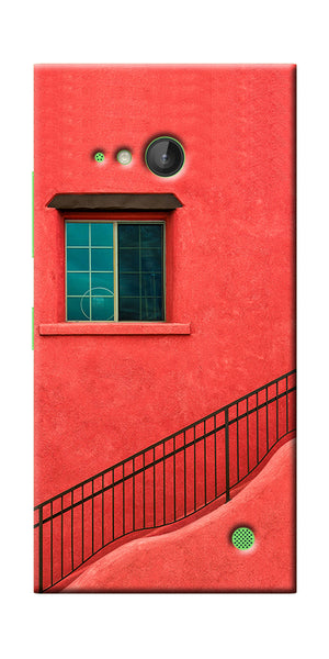 Digiprints Beautiful Red City  Printed Designer Back Case Cover For Microsoft Lumi730