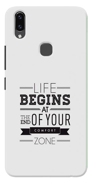 Quotes About Out Of The Box Printed Designer Back Case Cover For Vivo V9