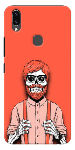 Cool Skeleton  Printed Designer Back Case Cover For Vivo V9