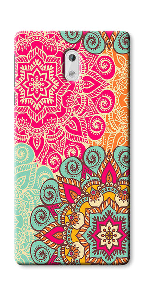 Digiprints Beautiful Ethnic Color Pattern  Printed Designer Back Case Cover For Nokia 5