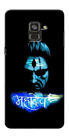 Mahadev Art  Printed Designer Back Case Cover For Samsung Galaxy A8 Plus 2018
