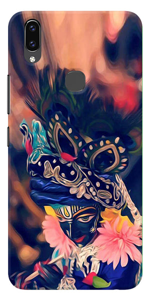 Beautiful Kanha Printed Designer Back Case Cover For Vivo V9