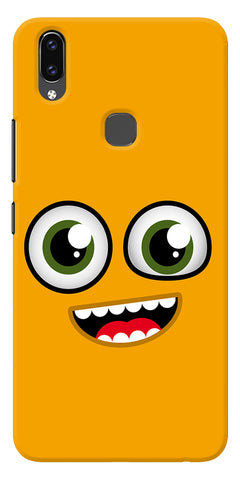 Cartoon Yellow Printed Designer Back Case Cover For Vivo V9