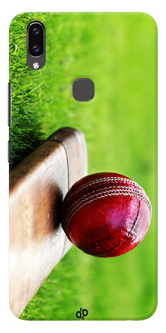 Cricket Bat Ball Printed Designer Back Case Cover For Vivo V9