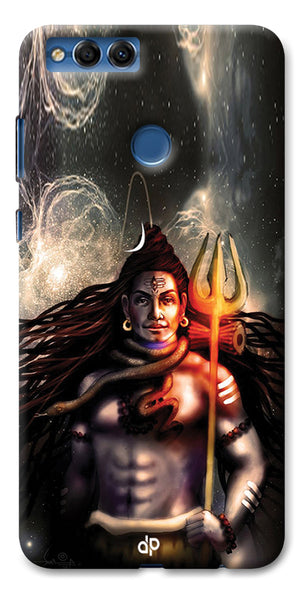 Digiprints Shiva Printed Designer Back Case Cover For Huawei Honor 7X