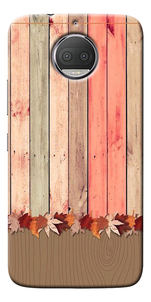 Spring Wooden Art Printed Designer Back Case Cover For Motorola Moto G5S Plus