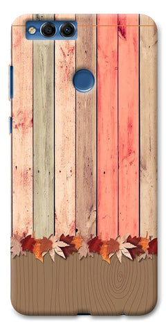 Digiprints Spring Wooden Art Printed Designer Back Case Cover For Huawei Honor 7X