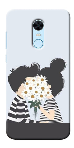 Astranaut With Kitty Printed Designer Back Case Cover For Xiaomi Redmi 5