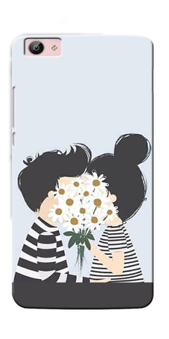 Digiprints Beautiful Love Design Printed Designer Back Case Cover For Vivo V5