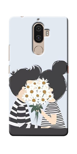 Digiprints Beautiful Love Design Printed Designer Back Case Cover For Lenovo K8 Plus