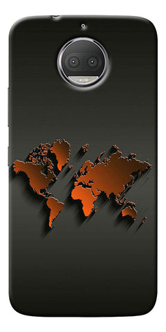 World Map Art Design Printed Designer Back Case Cover For Motorola Moto G5S Plus