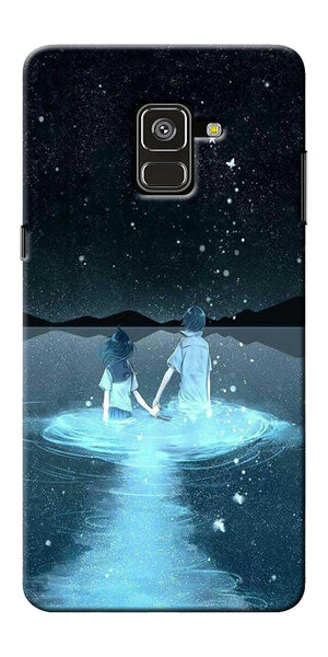 Radium Night View Printed Designer Back Case Cover For Samsung Galaxy A8 Plus 2018