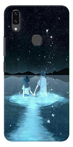 Radium Night View Printed Designer Back Case Cover For Vivo V9