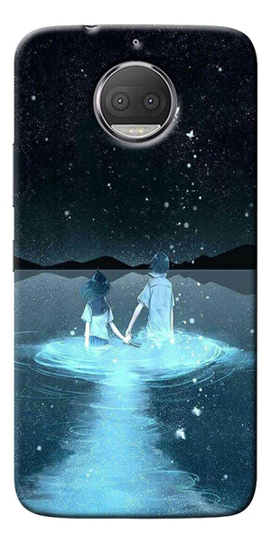 Radium Night View Printed Designer Back Case Cover For Motorola Moto G5S Plus