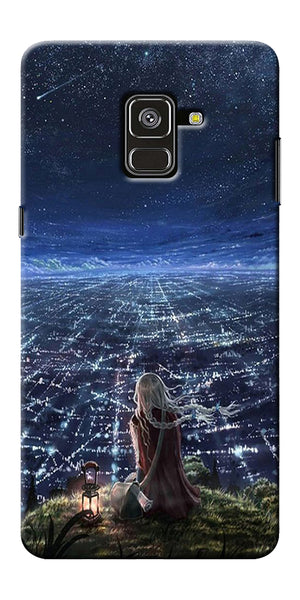 Star City Design Printed Designer Back Case Cover For Samsung Galaxy A8 Plus 2018
