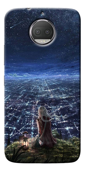 Star City Design Printed Designer Back Case Cover For Motorola Moto G5S Plus