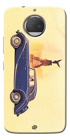 Vintage Car Printed Designer Back Case Cover For Motorola Moto G5S Plus