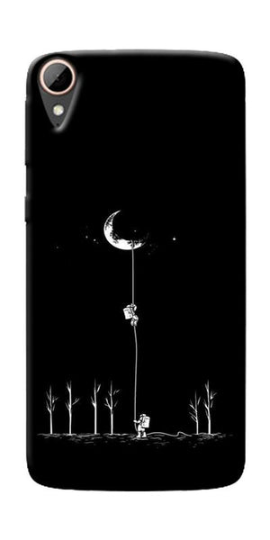 Climbing The Moon Printed Designer Back Case Cover For HTC Desire 828