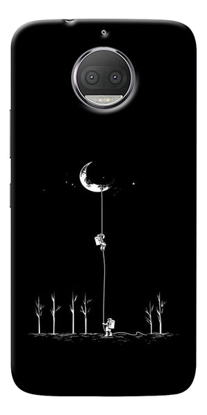 Climbing The Moon Printed Designer Back Case Cover For Motorola Moto G5S Plus