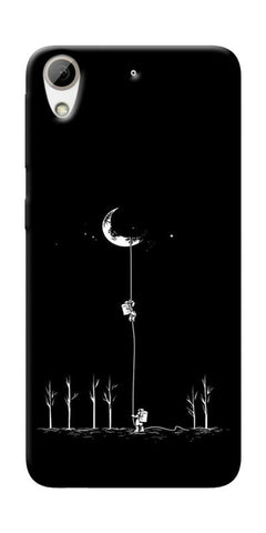 Climbing The Moon Printed Designer Back Case Cover For HTC Desire 626