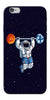 Digiprints Astranaut Lifting Planets Printed Designer Back Case Cover For Apple iPhone 6s