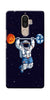 Digiprints Astranaut Lifting Planets Printed Designer Back Case Cover For Lenovo K8 Note
