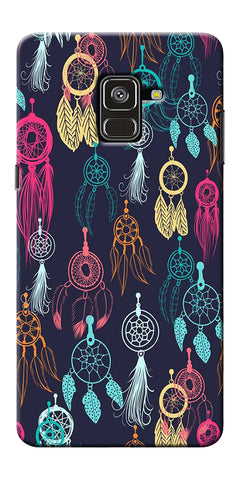 Dream Catcher Collage Printed Designer Back Case Cover For Samsung Galaxy A8 Plus 2018