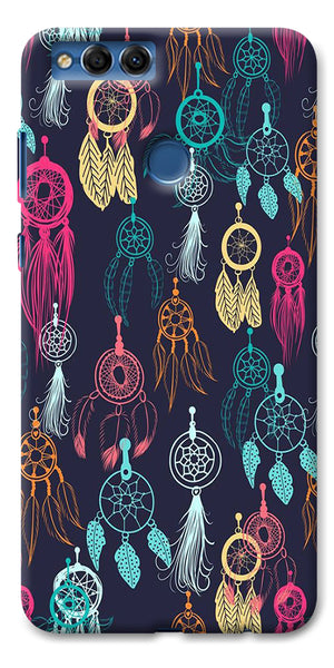 Digiprints Dream Catcher Collage Printed Designer Back Case Cover For Huawei Honor 7X