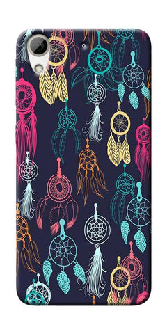 Dream Catcher Collage Printed Designer Back Case Cover For HTC Desire 626