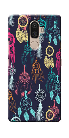 Digiprints Dream Catcher Collage Printed Designer Back Case Cover For Lenovo K8 Plus