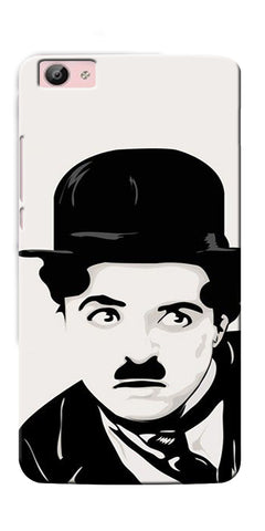 Digiprints Charlie Chaplin Printed Designer Back Case Cover For Vivo V5 Plus