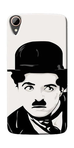 Charlie Chaplin Printed Designer Back Case Cover For HTC Desire 828