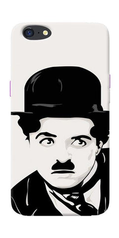 Charlie Chaplin Printed Designer Back Case Cover For Oppo A71