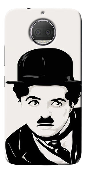Charlie Chaplin Printed Designer Back Case Cover For Motorola Moto G5S Plus